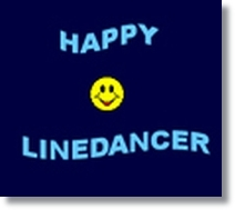 happy line dancer