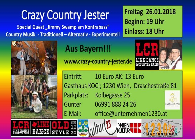 Crazy Country Jester